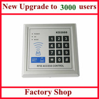Wholesale Rfid Single Door Access Control - New Upgrade 3,000 Users Standalone Single Door 125KHz RFID Access Control