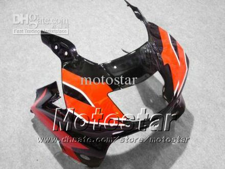 Carenados de carrocería para HONDA CBR600F3 95 96 CBR600 F3 1995 1996 CBR 600 F3 95 96 carenados personalizados negro rojo gossy set jj45