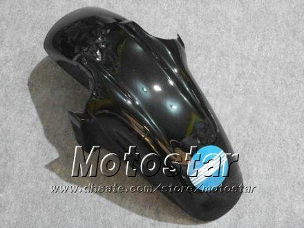 ABS Plastic Backings Set voor Honda CBR600F3 95 96 CBR600 F3 1995 1996 CBR 600 F3 95 96 Glossy White Black Highlings