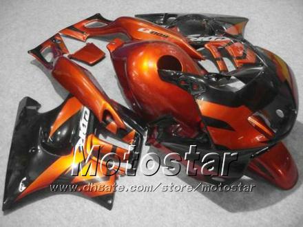 Fairings de carroçaria para Honda CBR600F3 95 96 CBR600 F3 1995 1996 CBR 600 F3 95 96 Laranja Vermelho Preto Fairings