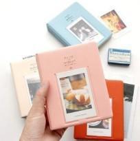 Wholesale Polaroid Photos - New 64 Pockets Polaroid photo picture Album Case For fujiFilm Instax Mini Film Size