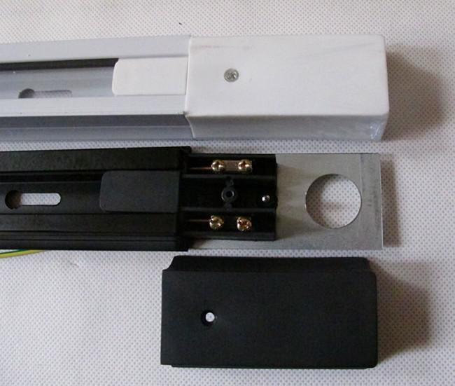 Vendite di fabbrica LED Alimentazione Luce di pista AC 85-265v Luce spot a LED Faretti a LED a chip importati 1M