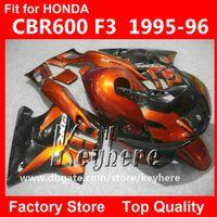 cbr motorradteile großhandel-Kostenlose 7 geschenke ABS Kunststoff verkleidung kit für Honda CBR 600 95 96 CBR600 1995 1996 F3 verkleidungen G5C hochwertigen rot schwarz motorrad teile
