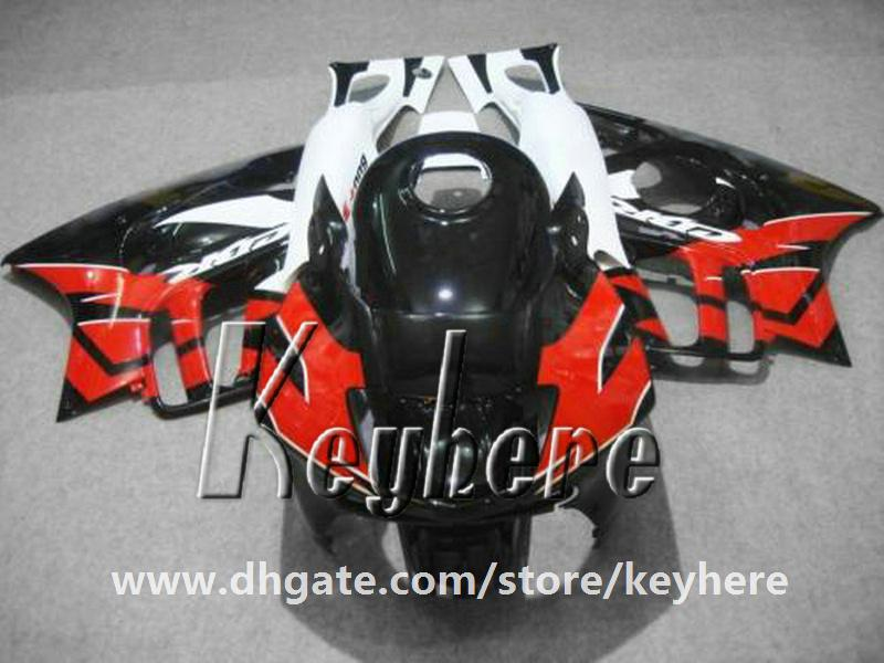 7 regali carenatura in plastica ABS Honda CBR 600 97 98 CBR600 1997 1998 F3 carene G2C parti di moto nero rosso di alta qualità bianco