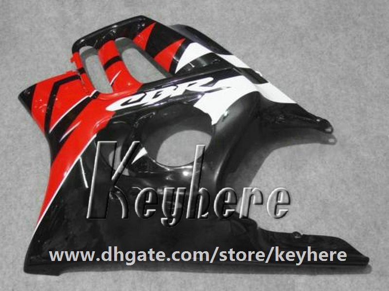 Free 7 gifts ABS Plastic fairing kit for Honda CBR 600 97 98 CBR600 1997 1998 F3 fairings G2C white high grade red black motorcycle parts
