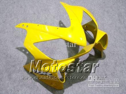 Customize fairings bodywork for HONDA CBR600F4i 01 02 03 CBR600 F4i CBR 600 F4i 2001 2002 2003 black yellow cheap motorcycle fairing