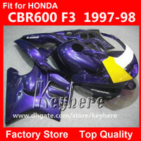 motorcycle honda cbr f3 NZ - Free 7 gifts custom race fairing kit for Honda CBR600 95 96 CBR 600 1995 1996 F3 fairings G3d hot sale yellow black motorcycle body work