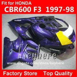 $enCountryForm.capitalKeyWord Australia - Free 7 gifts custom race fairing kit for Honda CBR600 95 96 CBR 600 1995 1996 F3 fairings G3d hot sale yellow black motorcycle body work