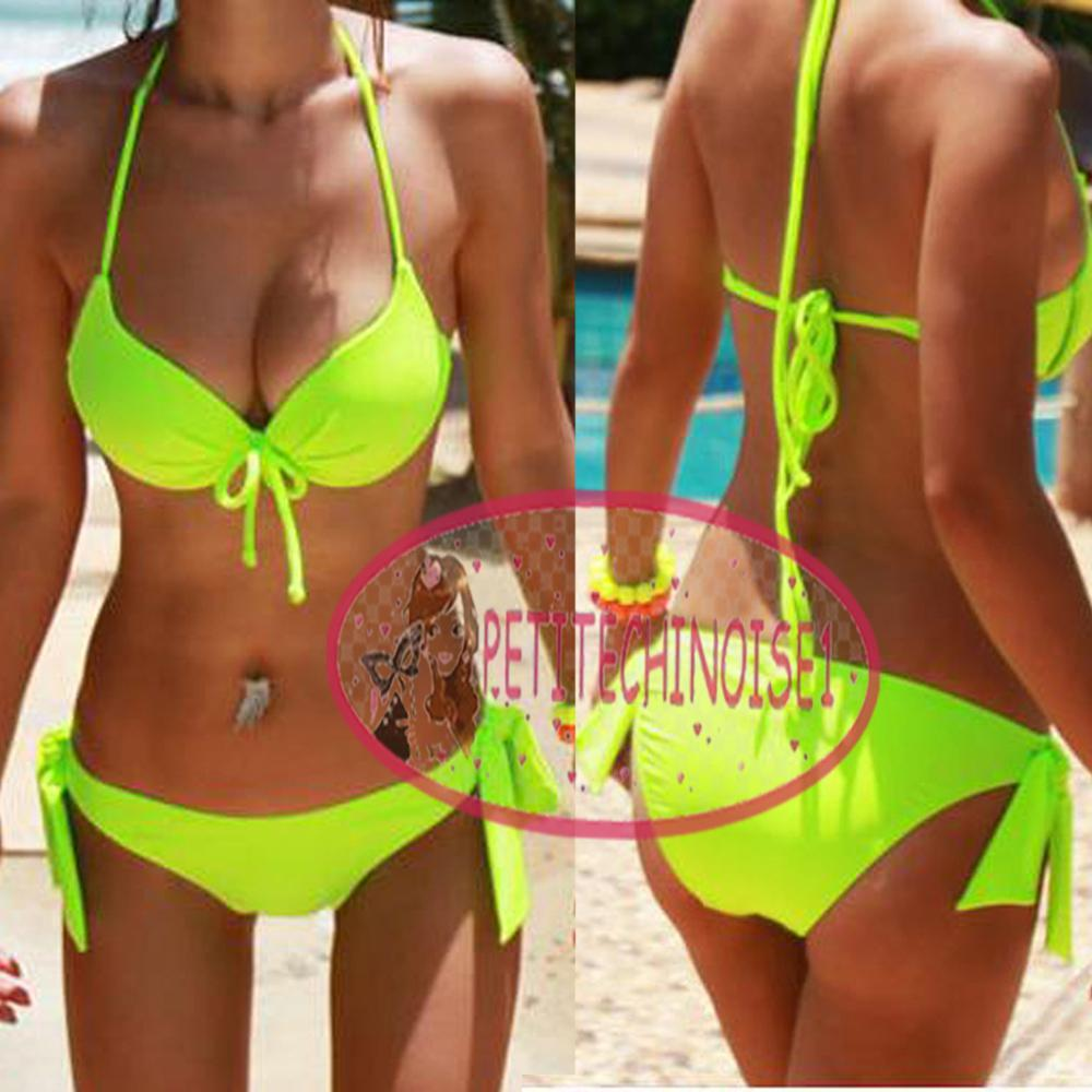 Sexy neon bikini