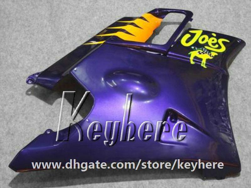 Kit de carénage 7 cadeaux gratuit pour Honda CBR 600 91 92 93 94 CBR600 1991 1992 1993 1994 carénage F2 pièces de moto haute qualité bleu jaune G1C