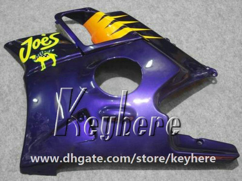 Kit carenatura da 7 regali Honda CBR 600 91 92 93 94 CBR600 1991 1992 1993 1994 F2 carene G1C parti di moto blu giallo di alta qualità