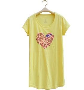 Gratis verzending - 100% katoen Home shirt / Lady T-shirt / origineel exporteren van hoogwaardige shirt