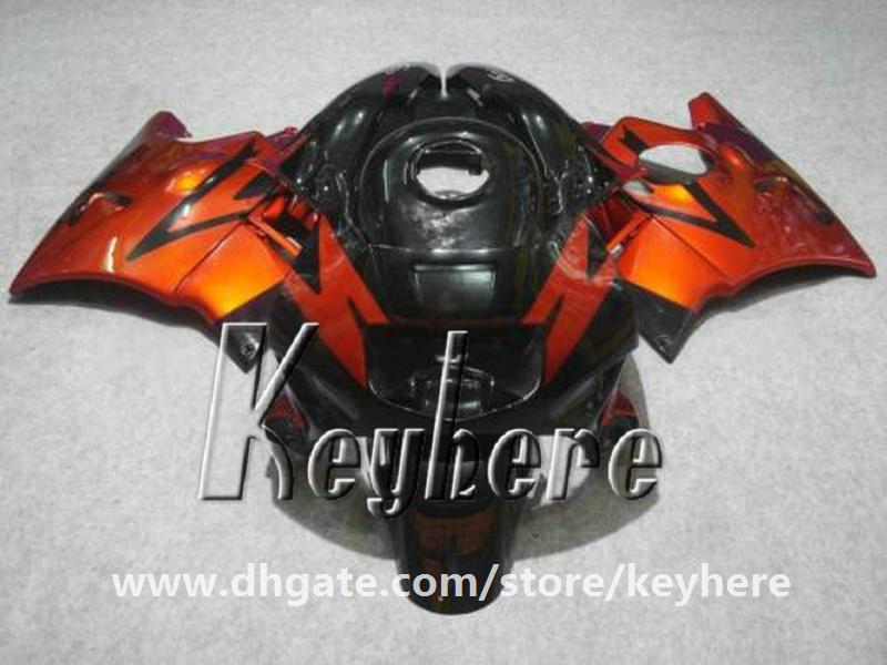 Kit de carénage gratuit 7 cadeaux pour Honda CBR 600 91 92 93 94 CBR-600 1991 1992 1993 1994 F2 carénages G3d nouvelles pièces de moto noir rouge de haute qualité