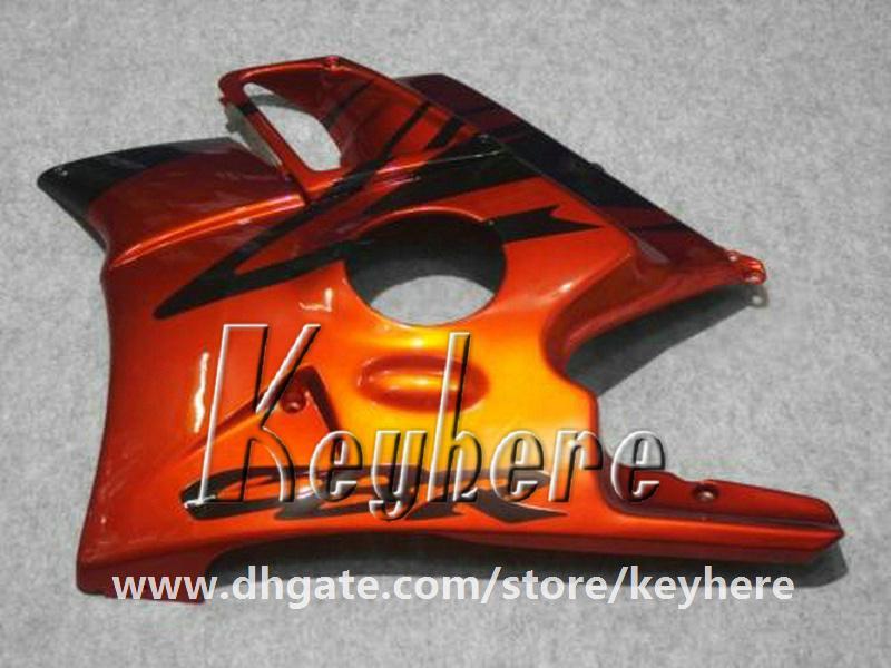 Kit carenatura 7 regali Honda CBR 600 91 92 93 94 CBR-600 1991 1992 1993 1994 F2 carene G3d nuove parti di motocicletta nera rossa di alta qualità