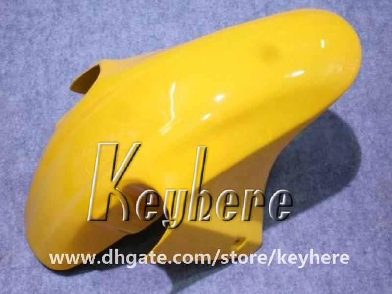 Free 7 gifts Custom race fairing kit for Honda CBR600 2001 2002 2003 CBR 600 01 02 03 F4I fairings G1e yellow black motorcycle body work