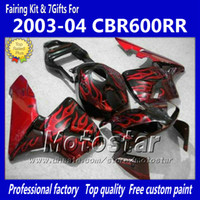 Fairings bodykit for HONDA CBR600RR F5 2003 2004 CBR 600 RR ...