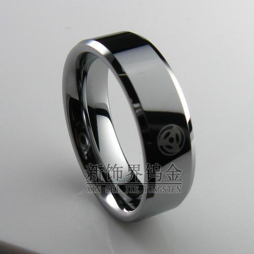 new decoration sector tungsten rings gold rings tungsten anime naruto write round eyes young favorites yellow gold engagement rings wedding sets from - Anime Wedding Rings
