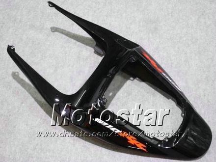 7 선물 FAIRINGS 바디 키트 Honda CBR600RR F5 2005 2006 CBR 600 RR 05 06 CBR600 600RR 광택 검은 오토바이 페어링 KK21
