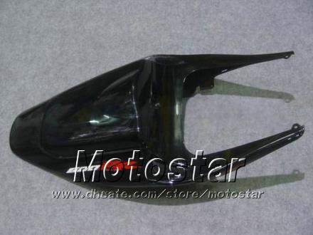 Kit de carénage de carénage pour HONDA CBR600RR F5 2005 2006 CBR 600 RR 05 06 CBR600 600RR flamme orange en noir carénage moto kk38
