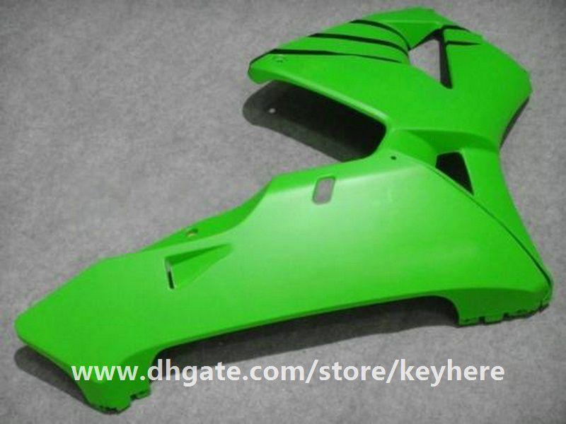 Kit de carenado de inyección gratuito 7 regalos para Honda CBR600RR 2005 2006 CBR 600RR 05 06 F5 carenados G5e alto grado VERDE NEGRO trabajo de la motocicleta de la motocicleta
