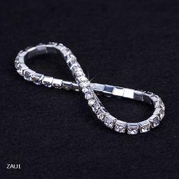 $enCountryForm.capitalKeyWord Canada - 1 row Shiny Rhinestone Elastic Lady Bangle Stretch Crystal Bangle Bracelet Fit Party Prom Wedding Engagement Bridal Jewelry Gift ZAU1*5