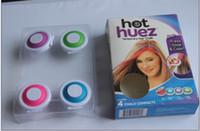 Wholesale Hot Huez Hair - 100sets free shipping HOT HUEZ TEMPORARY HAIR Acessories,make you beautiful