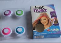 Wholesale Hot Huez Hair - 400sets free shipping HOT HUEZ make you beautiful hair TEMPORARY HAIR Acessories