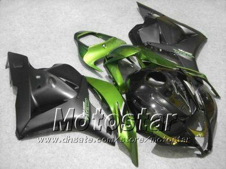 7Gifts injection fairings body kit for HONDA CBR600RR F5 2009 2010 2011 CBR 600 RR 09 10 11 green black custom fairing set