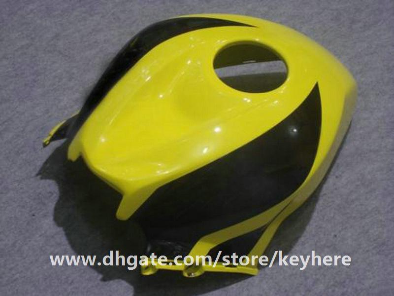 Livre 7 presentes injeção carenagem kit para Honda CBR600RR 2007 2008 CBR 600RR 07 08 F5 CBR-600RR carenagens G4f preto amarelo corpo da motocicleta trabalho
