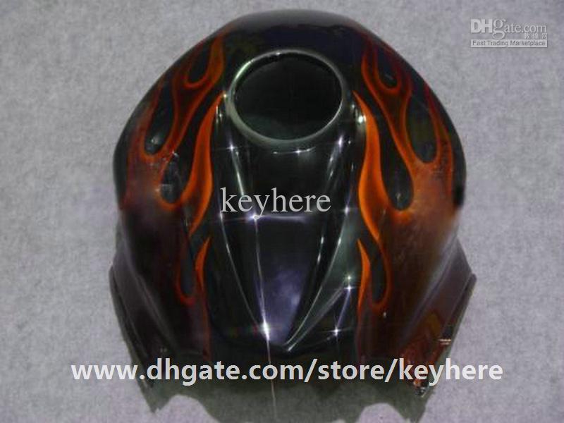 Gratis 7 Geschenken Injectie Keuken Kit voor HONDA CBR600RR 2007 2008 CBR 600RR 07 08 F5 CBR-600RR FACKINGS G6F Rode vlammen Motorfiets Lichaamswerk