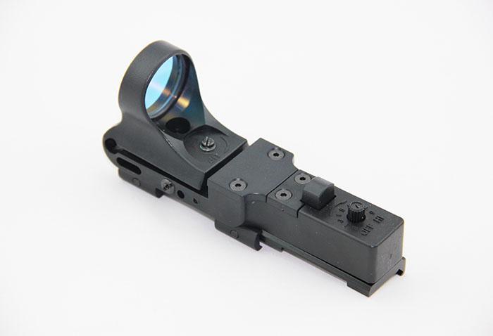 Tactical C-MORE Rail Reflex Sight 8 MOA Red Dot con integrato Picatinny Mount Polymer Matte
