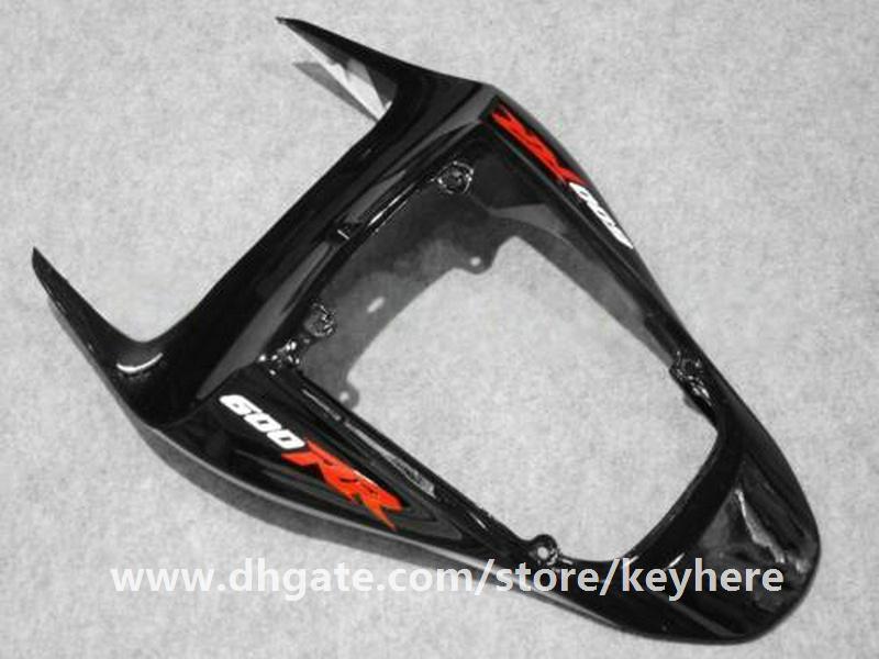Kit de carenado de inyección gratuito 7 regalos para Honda CBR-600RR 2007 2008 CBR600RR 07 08 F5 carenados G6e REPSOL naranja negro trabajo de la carrocería de la motocicleta