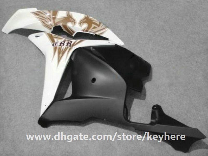 Kit de carénage d'injection gratuit 7 cadeaux pour Honda CBR600RR 2009 2010 Carénage CBR 600RR 09 10 F5 CBR-600RR Carénage de moto G2c brun blanc noir