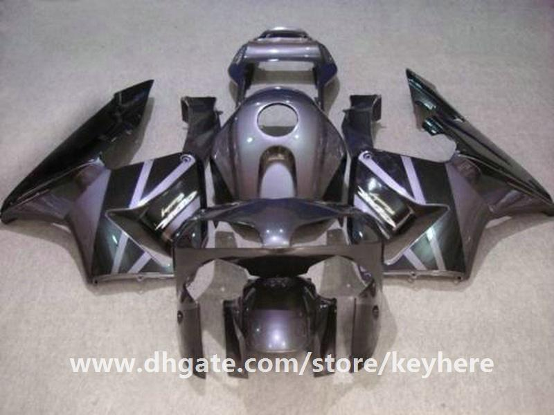 Gratis 7 geschenken Injectie Keuken Kit voor HONDA CBR600RR 2003 2004 CBR 600RR 03 04 F5 CBR-600RR Verklei G3E Grijs Zwart Motorfiets Body Work