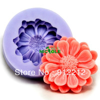 Wholesale Soft Silicon Mold For Soap - Free shipping 3D Soap Molds F0129 Soft Silicon mold DIY Mould For pudding cookie Jelly Cake cookie handmade soap