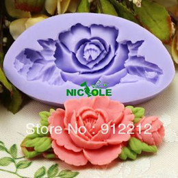 Wholesale Mini Silicon Mould - 3D Soap Molds F0199- Mini Soft Silicon mold DIY Mould For pudding cookie Jelly Cake cookie handmade soap Free shipping