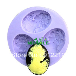 Wholesale Soft Silicon Mold For Soap - Free shipping 3D Soap Molds F0071 Soft Silicon mold DIY Mould For pudding cookie Jelly Cake cookie handmade soap