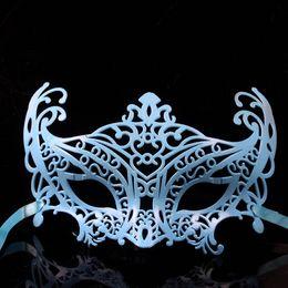 Wholesale Fox Decor - Multi Colors Sexy Fox Mask Masquerade Balls Art Decor Half Face PVC Mask Christmas Gift MA04