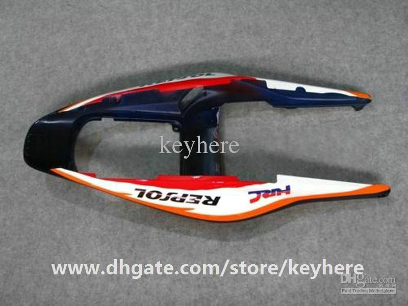Kit de carenado de inyección gratuito 7 regalos para Honda CBR600RR 2003 2004 CBR 600RR 03 04 F5 CBR-600RR carenados G4e REPSOL naranja trabajo de la carrocería de la motocicleta