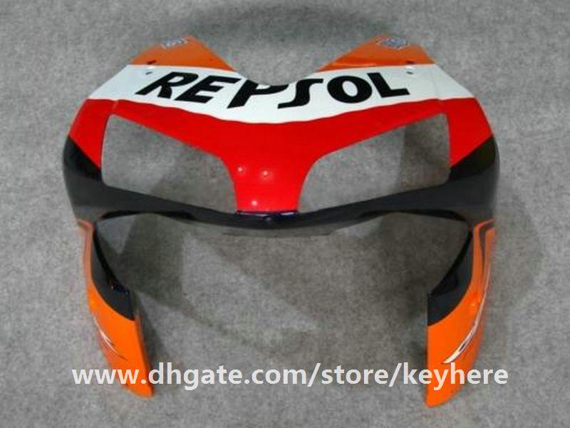 Kit de carénage d'injection gratuit 7 cadeaux pour Honda CBR600RR 2003 2004 CBR 600RR 03 04 F5 CBR-600RR carénages G4e REPSOL orange carrosserie de moto