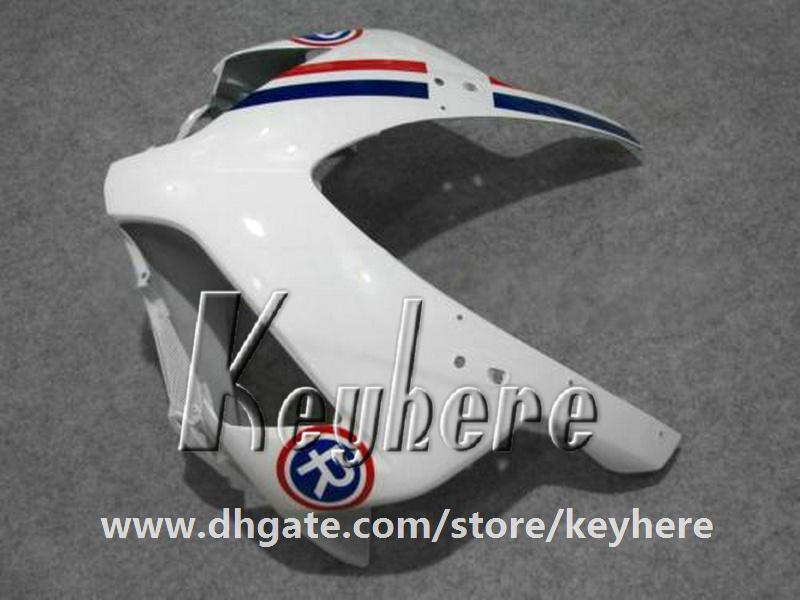 Livre 7 presentes injeção carenagem kit para Honda CBR1000RR 2004 2005 CBR 1000RR 04 05 CBR-1000RR carenagens G3f azul branco vermelho peças da motocicleta