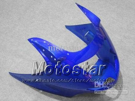 100% fit Fairings de injeção para HONDA CBR1100 CBR1100XX CBR 1100XX 1997-2003 carenagem motocicleta azul brilhante LL26