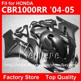 Wholesale Motorcycle Parts For Honda - Free 7 gifts injection fairing kit for Honda CBR1000RR 2004 2005 CBR 1000RR 04 05 CBR1000 RR fairings G3i new flat black motorcycle parts