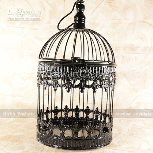 Repurposed Bird Cages In Home Decor | Furnish Burnish
