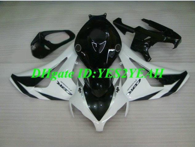 Kit corpo carena iniezione Honda CBR1000RR 08 09 CBR 1000 RR 2008 2009 cbr 1000rr bianco nero Set carenature + regali HM23