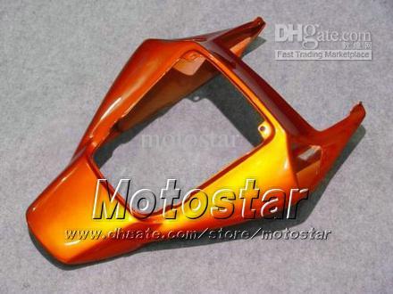 7 regali carenatura del motociclo dello stampaggio ad iniezione HONDA CBR1000RR 06 07 CBR 1000RR 2006 di carenature tutto arancione lucido rosso LL73