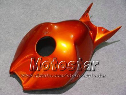 7 Geschenken Injectie Molding Motorfiets Kosten voor Honda CBR1000RR 06 07 CBR 1000RR 2006 2007 Alle glanzende Oranje Rode Verklei Set LL73
