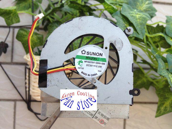 Para ASUS UX42 14 polegadas UX42VS super MF60070V1-C110-S99 IBM Lenovo E30 ventoinha ThinkPad E30 Borda 13 E31 ventilador embutido 04W0343 mf45070v1-q060-g99