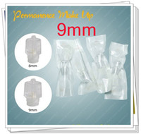 Wholesale Permanent Makeup Tubes - Hot!100x 9mm Permanent Makeup Disposable Machine Head Make-up Tubes Cosmetic Kits Supply