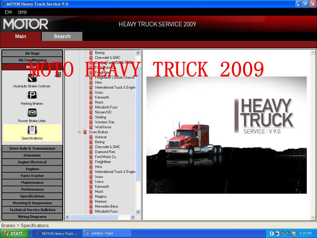 2013 Moto Truck Truck Manuals 2009 Semelhante como Mitchell Heavy Truck
